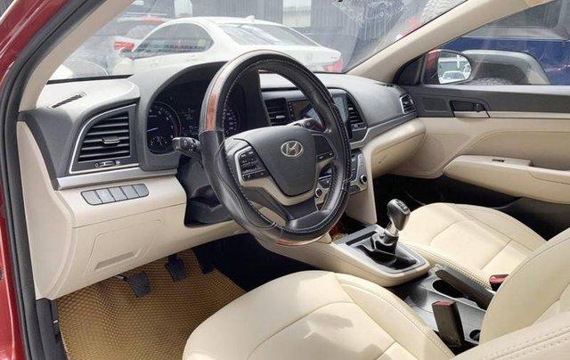 Bán Hyundai Elantra năm sản xuất 2018, màu đỏ, giá 485tr7