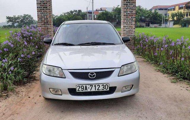 Chính chủ bán xe Mazda 323 sản xuất 2002, màu xám, nhập khẩu0