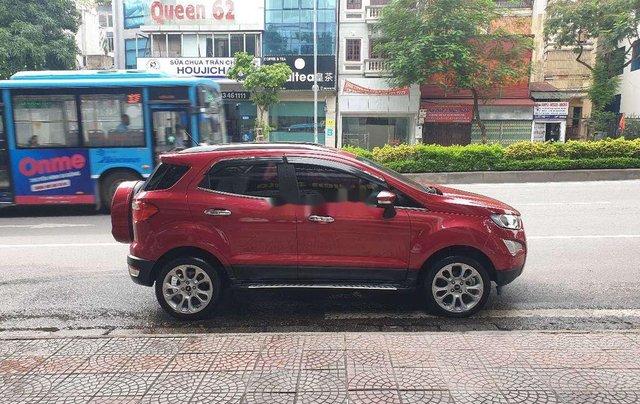 Bán Ford EcoSport 1.5 Titanium đời 2018, màu đỏ, giá 555tr2