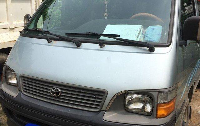 Bán xe Toyota Hiace đời 2000, xe nhập, 16 chỗ, màu xanh ngọc1