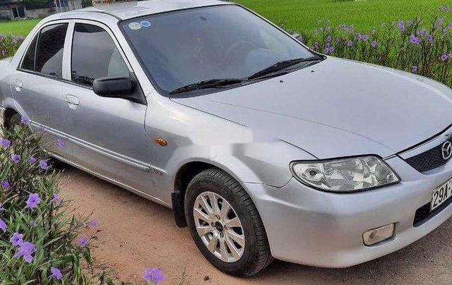 Chính chủ bán xe Mazda 323 sản xuất 2002, màu xám, nhập khẩu1