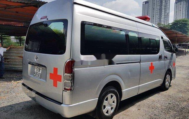 Chính chủ bán xe cứu thương Toyota Hiace sản xuất năm 2014, màu bạc4