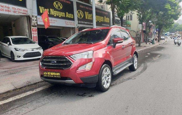 Bán Ford EcoSport 1.5 Titanium đời 2018, màu đỏ, giá 555tr1