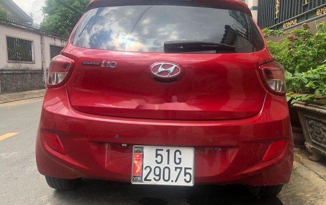 Bán Hyundai Grand i10 sản xuất năm 2016, màu đỏ, xe nhập, bản đủ2