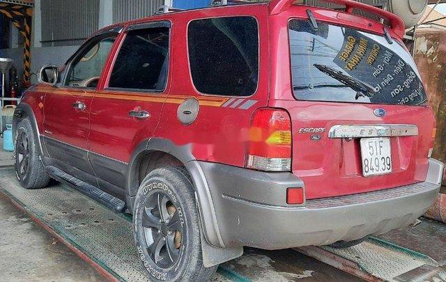 Bán xe Ford Escape đời 2002, màu đỏ, số tự động, 140 triệu1