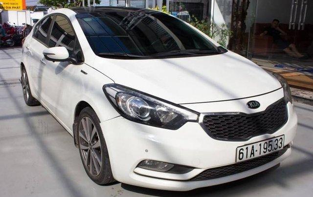 Bán ô tô Kia K3 đời 2014, màu trắng1