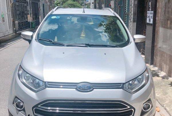 Cần bán gấp Ford EcoSport đời 2016, màu bạc chính chủ0