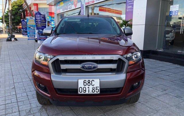 Ford Ranger XLS 2.2 4x2 MT sx 2017, xe bán chính hãng bảo hành 1 năm0