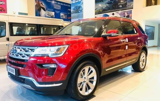 Xe Ford Explorer Limited 2.3L EcoBoost0