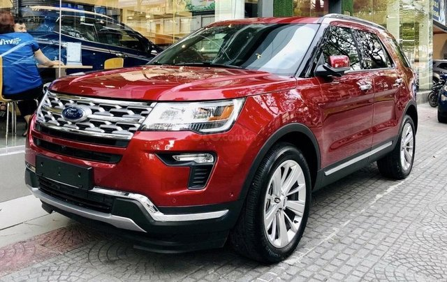 Xe Ford Explorer Limited 2.3L EcoBoost12