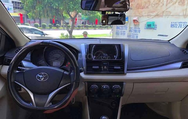 Bán Toyota Vios đời 2017 màu ghi vàng, giá 398tr3