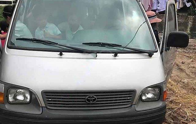 Cần bán lại xe Toyota Hiace đời 2004, màu phấn hồng2