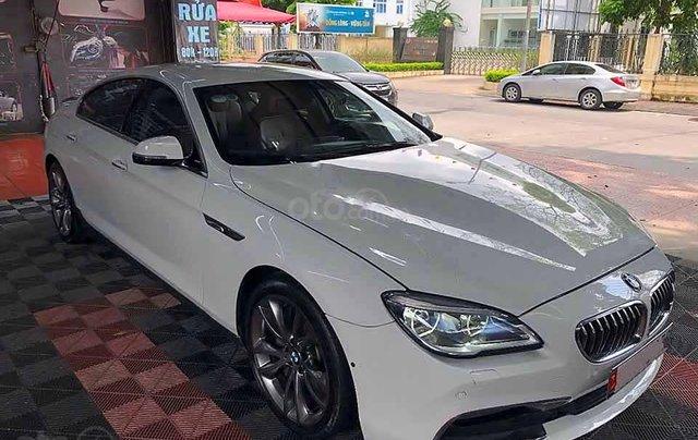 Cần bán xe BMW 6 Series 640i năm 2016, màu trắng, nhập khẩu nguyên chiếc0