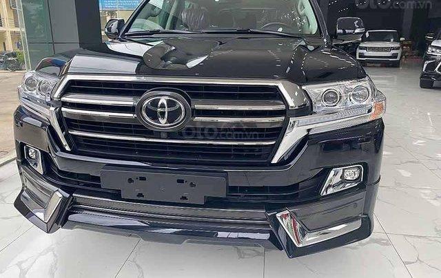 Bán Toyota Land Cruiser năm sản xuất 2020, màu đen, xe nhập0