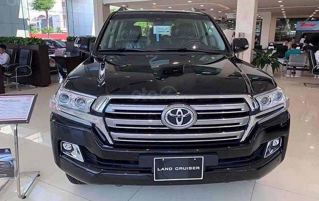Bán xe Toyota Land Cruiser đời 2020, màu đen, nhập khẩu nguyên chiếc0