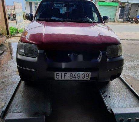 Bán xe Ford Escape đời 2002, màu đỏ, số tự động, 140 triệu0