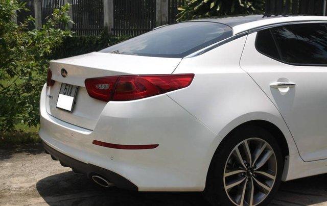 Bán xe Kia Optima năm sản xuất 2014, màu trắng, nhập khẩu Hàn Quốc xe gia đình3