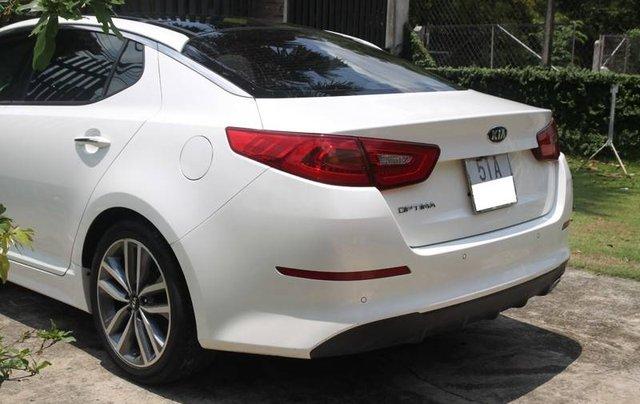 Bán xe Kia Optima năm sản xuất 2014, màu trắng, nhập khẩu Hàn Quốc xe gia đình2