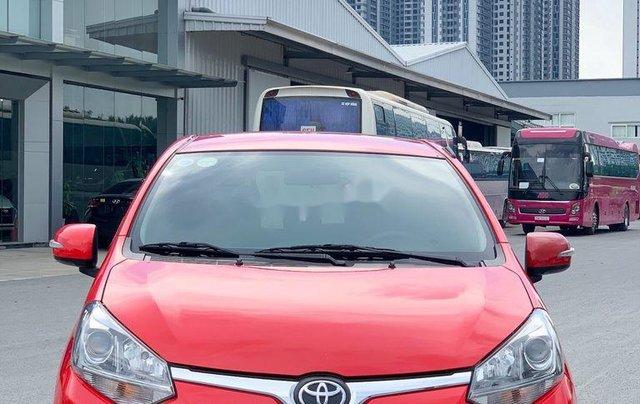 Cần bán xe Toyota Wigo 2018, màu đỏ, xe nhập, giá 345tr5
