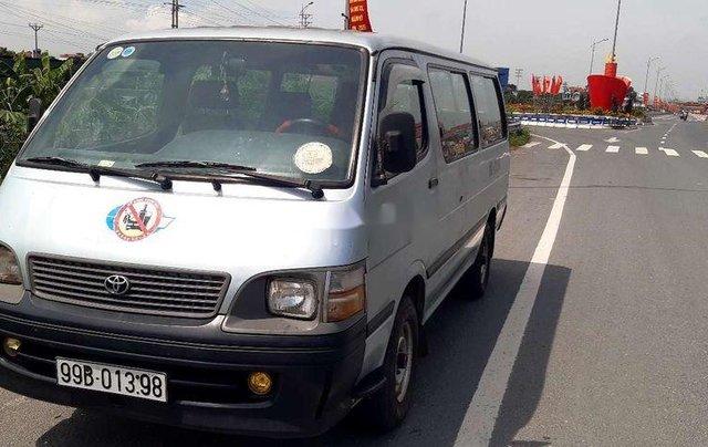Bán Toyota Hiace đời 2001, màu bạc, nhập khẩu, lốp mới9