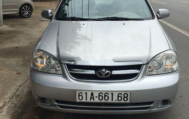 Bán ô tô Daewoo Lacetti đời 2010, màu bạc, 192tr0