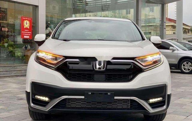 Bán Honda CR V đời 2020, màu trắng0