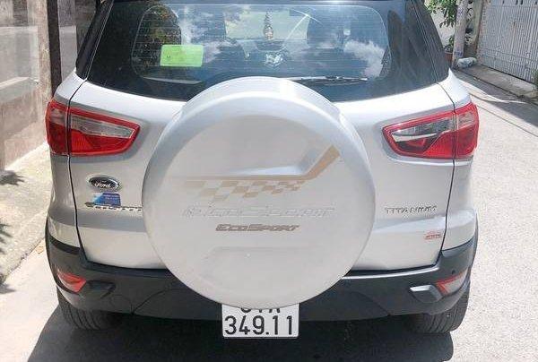 Cần bán gấp Ford EcoSport đời 2016, màu bạc chính chủ6