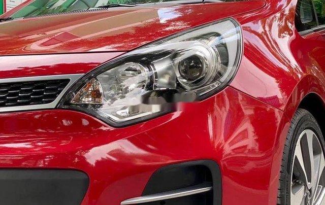 Cần bán xe Kia Rio đời 2015, màu đỏ, nhập khẩu nguyên chiếc3