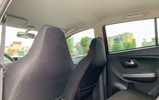 Cần bán xe Toyota Wigo 2018, màu đỏ, xe nhập, giá 345tr6