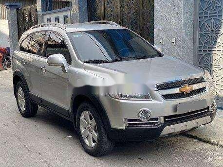 Bán xe Chevrolet Captiva sản xuất năm 2011, màu bạc, giá 270tr1
