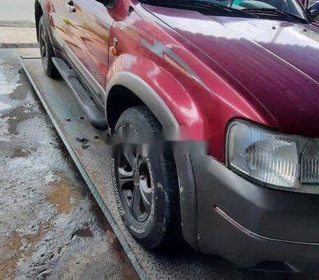 Bán xe Ford Escape đời 2002, màu đỏ, số tự động, 140 triệu4