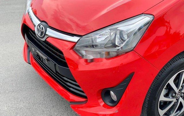 Cần bán xe Toyota Wigo 2018, màu đỏ, xe nhập, giá 345tr4