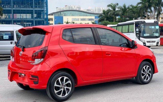 Cần bán xe Toyota Wigo 2018, màu đỏ, xe nhập, giá 345tr8
