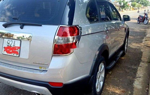 Bán Chevrolet Captiva đời 2008, màu bạc, xe gia đình1