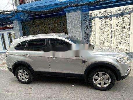 Bán xe Chevrolet Captiva sản xuất năm 2011, màu bạc, giá 270tr4