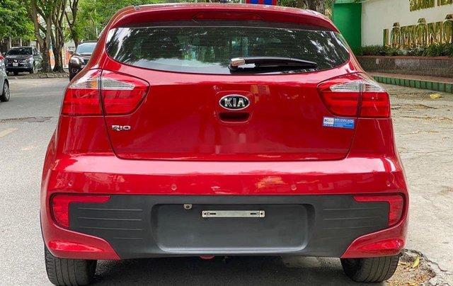Cần bán xe Kia Rio đời 2015, màu đỏ, nhập khẩu nguyên chiếc1