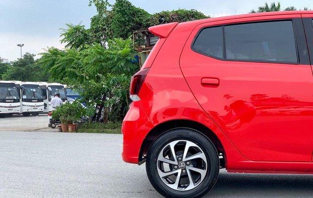 Cần bán xe Toyota Wigo 2018, màu đỏ, xe nhập, giá 345tr10