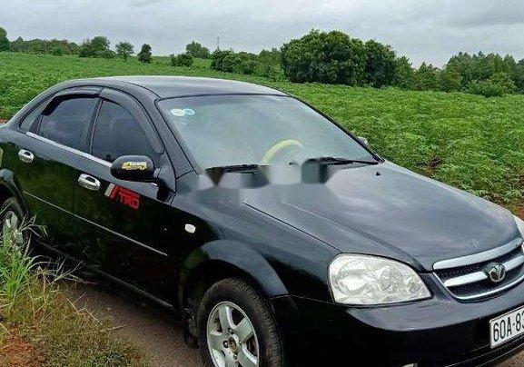 Bán xe Daewoo Lacetti đời 2008, màu đen8