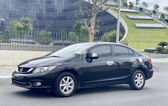 Bán ô tô Honda Civic 1.8AT 2015, màu đen, giá chỉ 515 triệu2