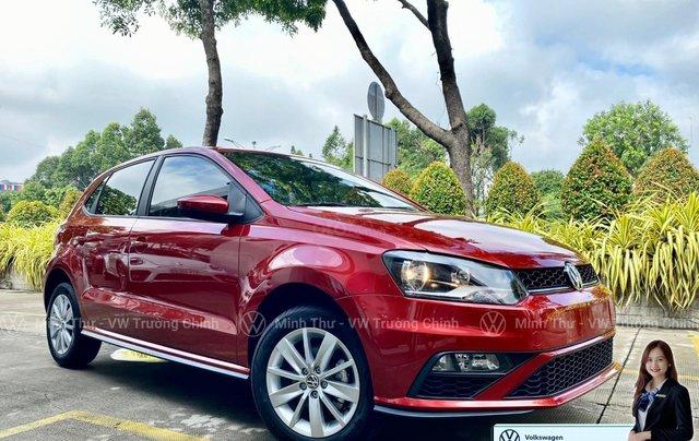 Xe Volkswagen Polo Hatchback màu đỏ 2020, giảm giá tốt - giao ngay3