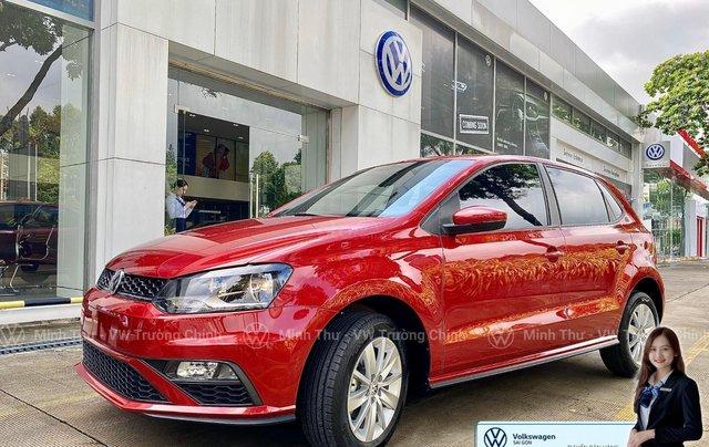 Xe Volkswagen Polo Hatchback màu đỏ 2020, giảm giá tốt - giao ngay1