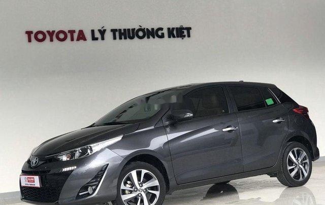 Bán Toyota Yaris đời 2018, màu xám còn mới giá cạnh tranh1