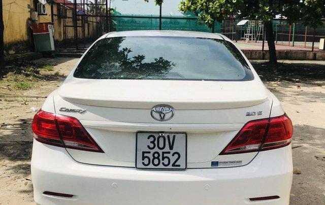 Cần bán gấp Toyota Camry đăng ký 2009, màu trắng còn mới, giá tốt 495 triệu đồng7
