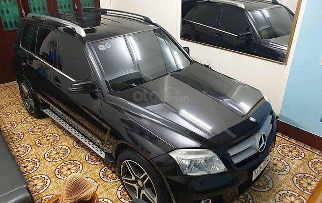 Cần bán lại xe Mercedes GLK300 4Matic đời 2010, màu đen như mới, giá tốt1