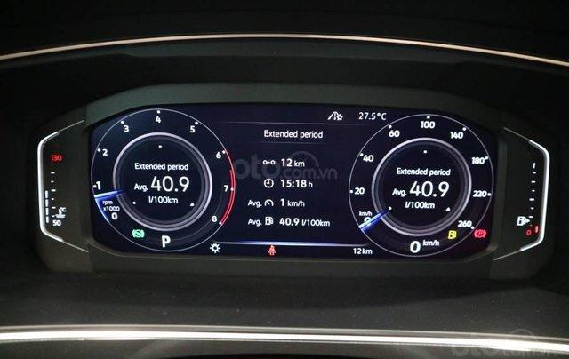 Xe Tiguan Luxury xanh rêu - khuyến mãi giá tốt - SUV 7 chỗ nhập khẩu7