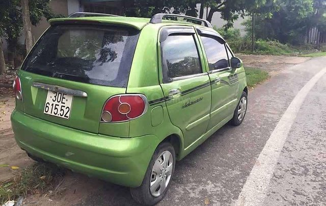 Cần bán xe Daewoo Matiz Se đời 2008, màu xanh lam còn mới4