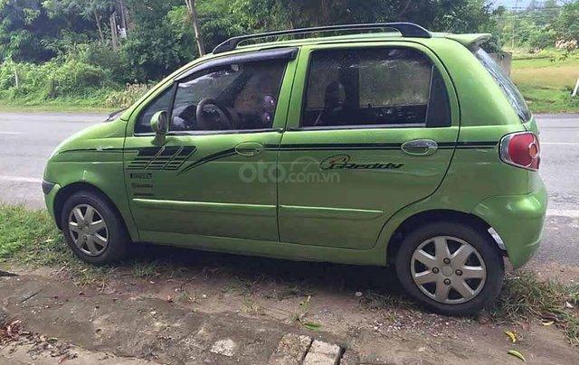 Cần bán xe Daewoo Matiz Se đời 2008, màu xanh lam còn mới0