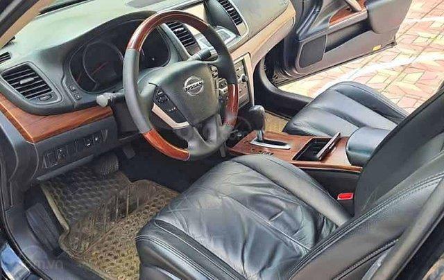 Cần bán lại xe Nissan Teana đời 2010, màu đen số tự động1