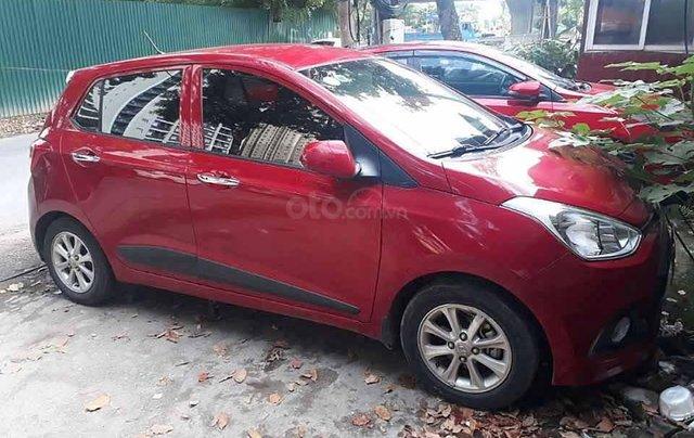 Cần bán xe Hyundai Grand i10 đời 2016, màu đỏ, nhập khẩu nguyên chiếc0