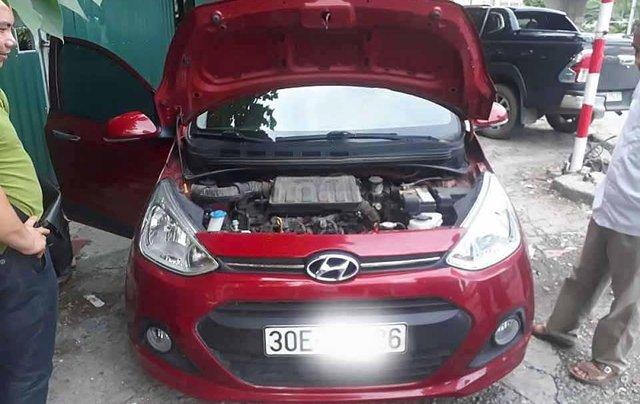 Cần bán xe Hyundai Grand i10 đời 2016, màu đỏ, nhập khẩu nguyên chiếc2